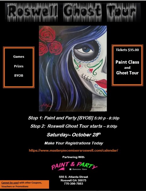 Paint and Tour Party!