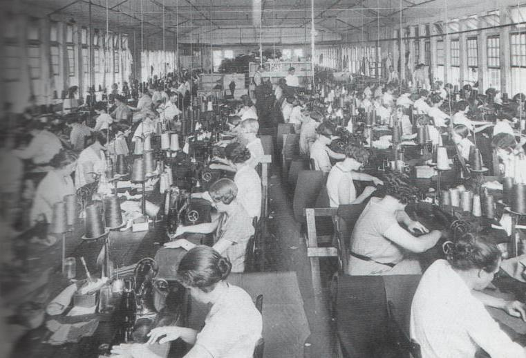 women in factory